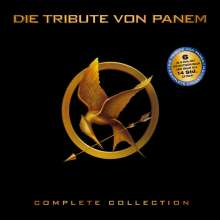 Die Tribute von Panem (Limited Complete Collection) (Blu-ray), 6 Blu-ray Discs