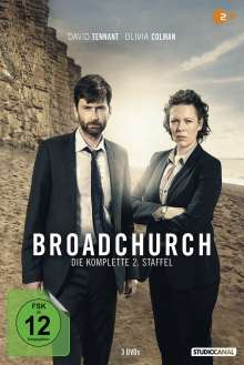 Broadchurch Staffel 2, 3 DVDs