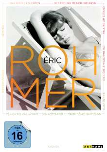 Best of Eric Rohmer, 10 DVDs
