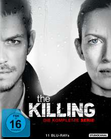 The Killing (Komplette Serie) (Blu-ray), 11 Blu-ray Discs