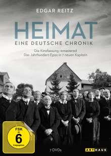 Heimat 1: Eine deutsche Chronik (remastered), 7 DVDs
