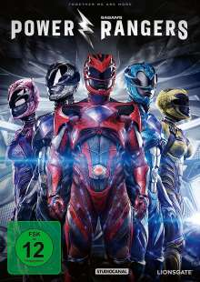 Power Rangers (2017), DVD
