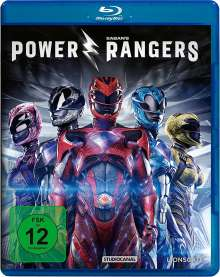 Power Rangers (2017) (Blu-ray), Blu-ray Disc