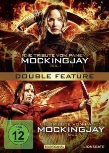 Die Tribute von Panem - Mockingjay Teil 1 & 2, 2 DVDs