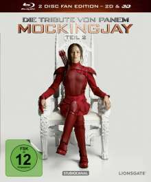 Die Tribute von Panem - Mockingjay Teil 2 (Fan Edition im Digipack) (3D Blu-ray), Blu-ray Disc