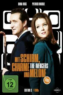 Mit Schirm, Charme und Melone Edition 2, 8 DVDs