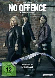 No Offence Staffel 1, 3 DVDs