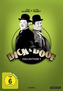 Dick & Doof Collection 1, 10 DVDs