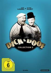 Dick & Doof Collection 2, 10 DVDs