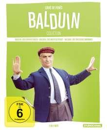 Louis de Funès - Balduin Collection (Blu-ray), 3 Blu-ray Discs