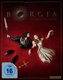 Borgia Staffel 3 (finale Staffel) (Director's Cut) (Blu-ray), 3 Blu-ray Discs