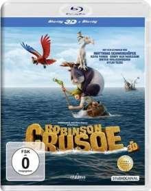 Robinson Crusoe (2015) (3D Blu-ray), Blu-ray Disc