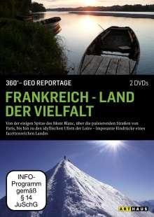360° Geo-Reportage: Frankreich - Land der Vielfalt, DVD
