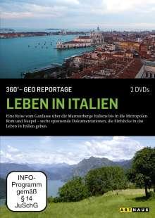360° Geo-Reportage: Leben in Italien, DVD