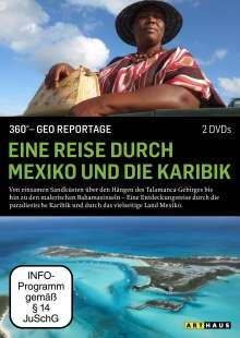 360° Geo-Reportage: Eine Reise durch Mexiko und die Karibik, DVD