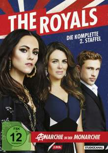 The Royals Staffel 2, 3 DVDs