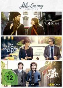 John Carney Collection, 3 DVDs