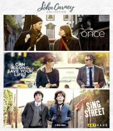 John Carney Collection (Blu-ray), 3 Blu-ray Discs