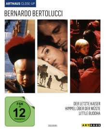 Bernardo Bertolucci Arthaus Close-Up (Blu-ray), 3 Blu-ray Discs