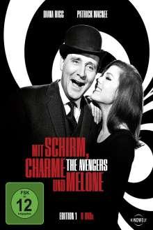 Mit Schirm, Charme und Melone Edition 1, 8 DVDs