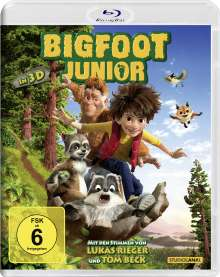 Bigfoot Junior (3D Blu-ray), Blu-ray Disc