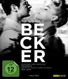Jacques Becker Edition (Blu-ray), 4 Blu-ray Discs