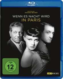 Wenn es Nacht wird in Paris (Blu-ray), Blu-ray Disc