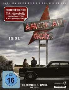 American Gods Staffel 1, 4 DVDs