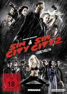 Sin City 1 & 2, 2 DVDs
