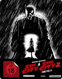 Sin City 1 & 2 (Blu-ray im Steelbook)