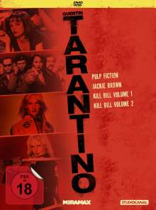 Tarantino Collection, 4 DVDs