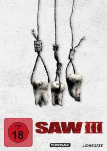 Saw III (White Edition), DVD