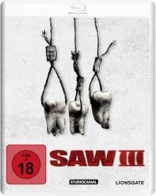 Saw III (White Edition) (Blu-ray), Blu-ray Disc