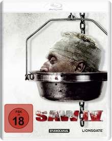 Saw IV (White Edition) (Blu-ray), Blu-ray Disc