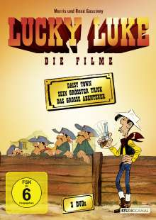 Lucky Luke - Die Filme, 3 DVDs