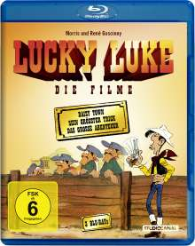 Lucky Luke - Die Filme (Blu-ray), 3 Blu-ray Discs