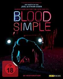 Blood Simple (Blu-ray), Blu-ray Disc