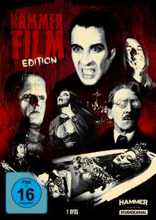 Hammer Film Edition, 7 DVDs