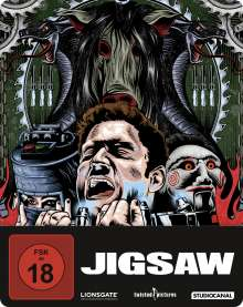 Jigsaw (Blu-ray im Steelbook), Blu-ray Disc
