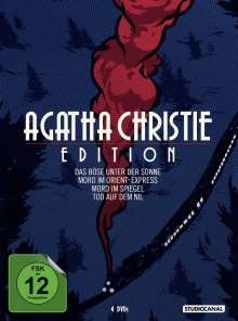 Agatha Christie Edition, 4 DVDs