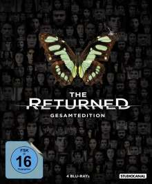 The Returned (Gesamtedition) (Blu-ray), 4 Blu-ray Discs