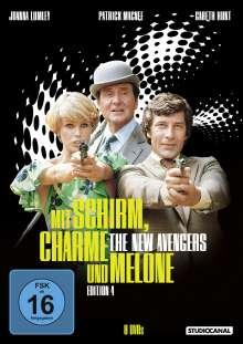 Mit Schirm, Charme und Melone Edition 4, 8 DVDs