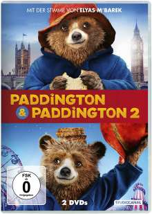 Paddington 1 & 2, 2 DVDs