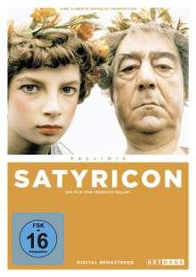 Fellinis Satyricon, DVD