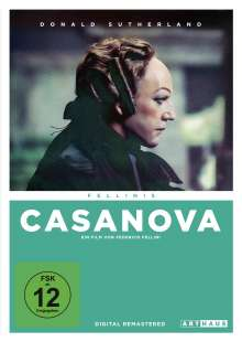 Fellinis Casanova, DVD