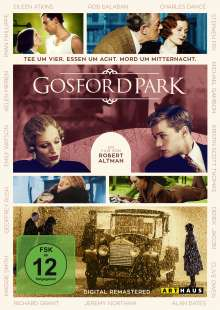 Gosford Park, DVD