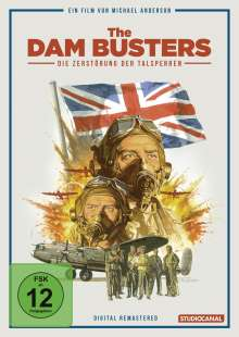 The Dam Busters - Die Zerstörung der Talsperren (Digital Remastered) (Special Edition), 2 DVDs