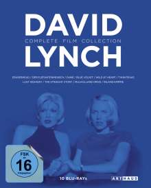 David Lynch (Complete Film Collection) (Blu-ray), 10 Blu-ray Discs