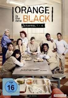 Orange is the New Black Staffel 1-4, 20 DVDs