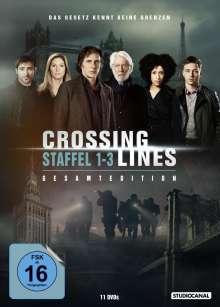 Crossing Lines Staffel 1-3 (Gesamtedition), 11 DVDs